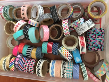 Washi Tape....and some other plastic tapes