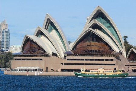 The Magnificent Sydney Opera House. Opened in 1973.